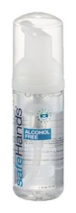 alcohol free hand sanitizer travel hajj umrah scent free