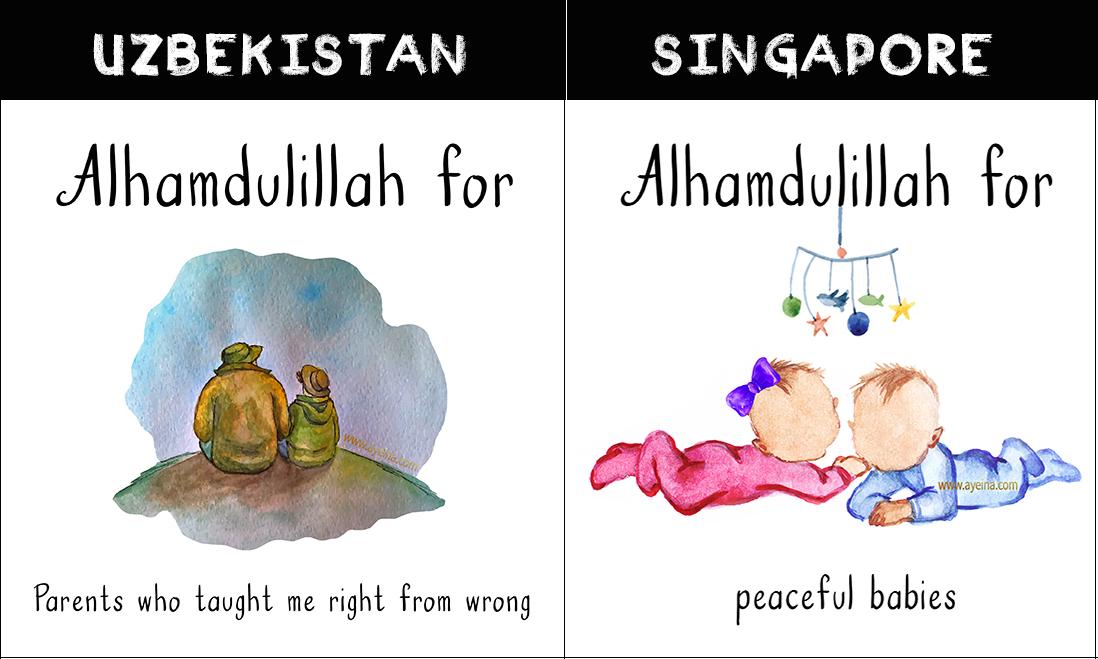 asia Gratitude for muslims around the world samina farooq ayesha farooq zayeneesha gratitude journal for muslims