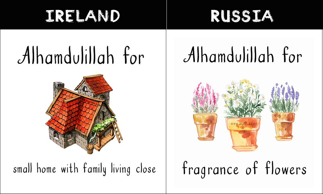european muslims Gratitude for muslims around the world samina farooq ayesha farooq zayeneesha gratitude journal for muslims
