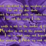 Losing weight sunnah way purple and gold font islamic approach towards controlling your weight