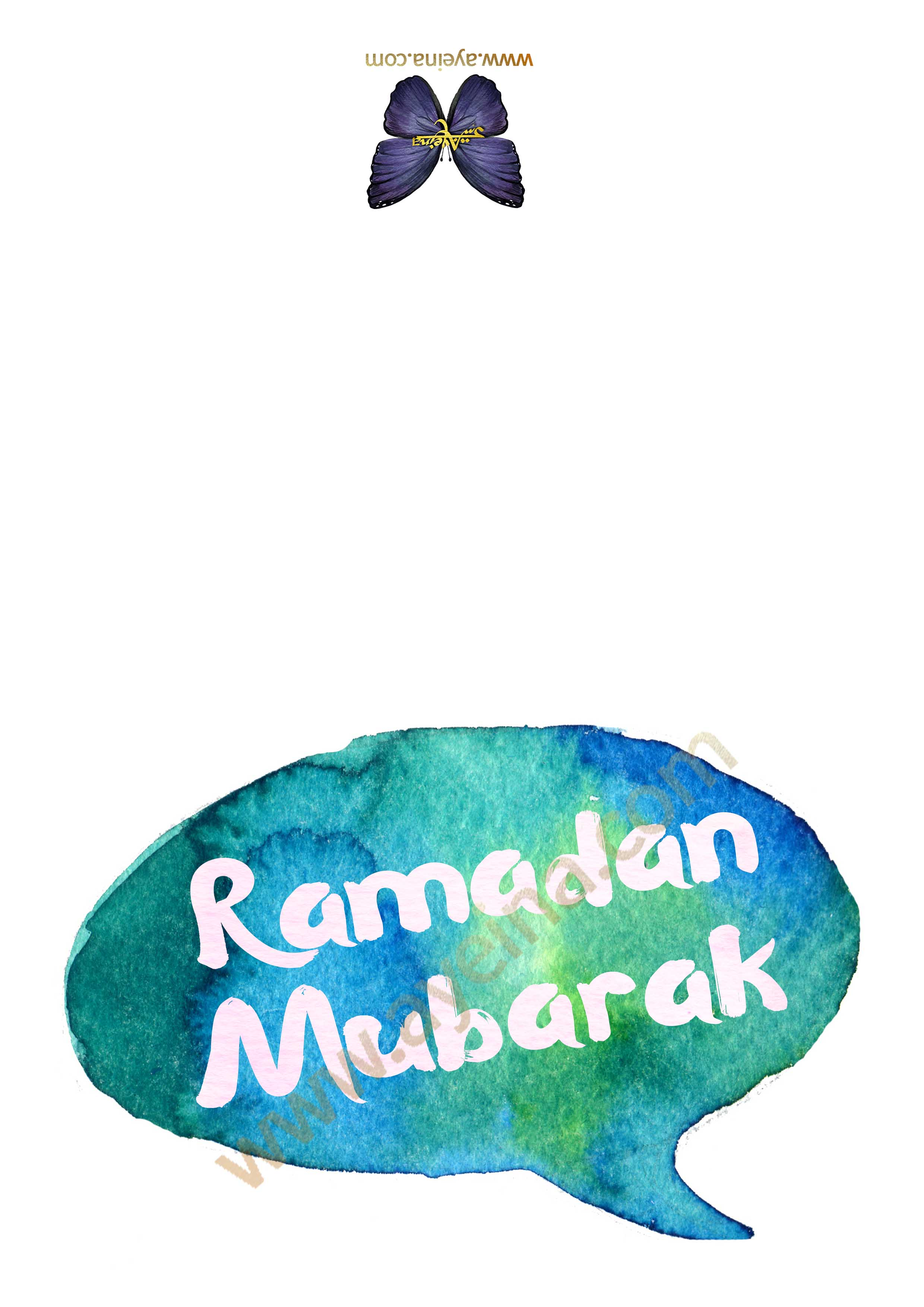 image about Ramadan Cards Printable named Absolutely free Ramadhan/ Eid Printable Offer for Subscribers