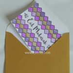 eid mubarak islamic pattern coloring card