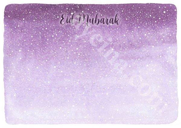 watercolor purple lilac pink snow flake effect hand lettering