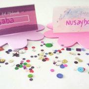 watercolor pink baba kids homeschooling muslimah