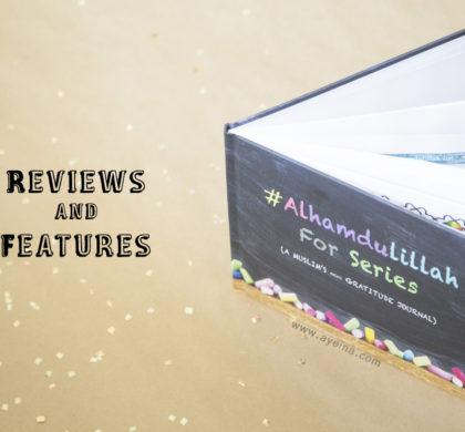 #AlhamdulillahForSeries – Gratitude Journal for Muslims
