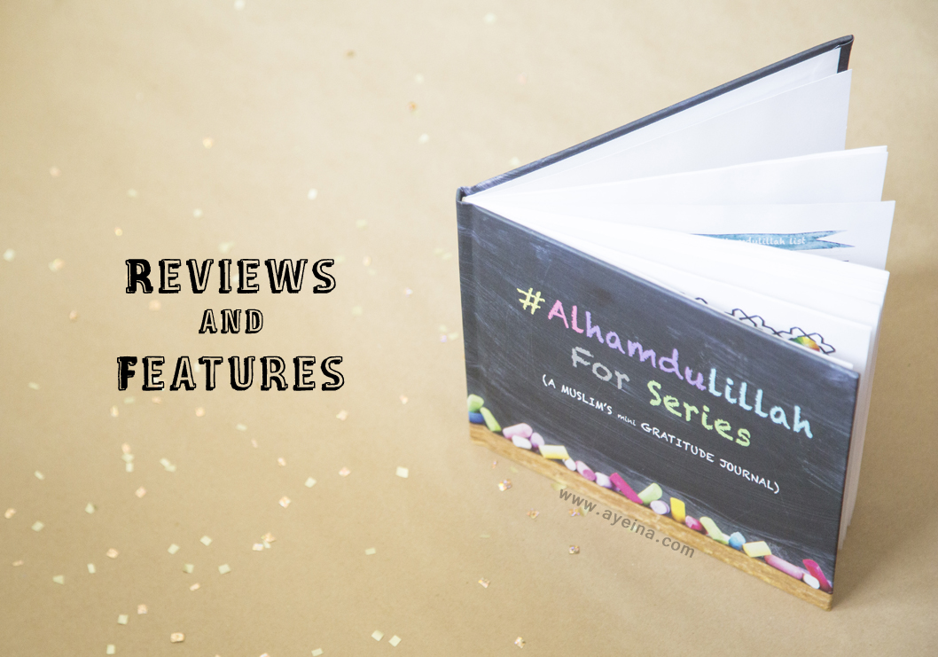 #AlhamdulillahForSeries Reviews – Gratitude Journal for Muslims
