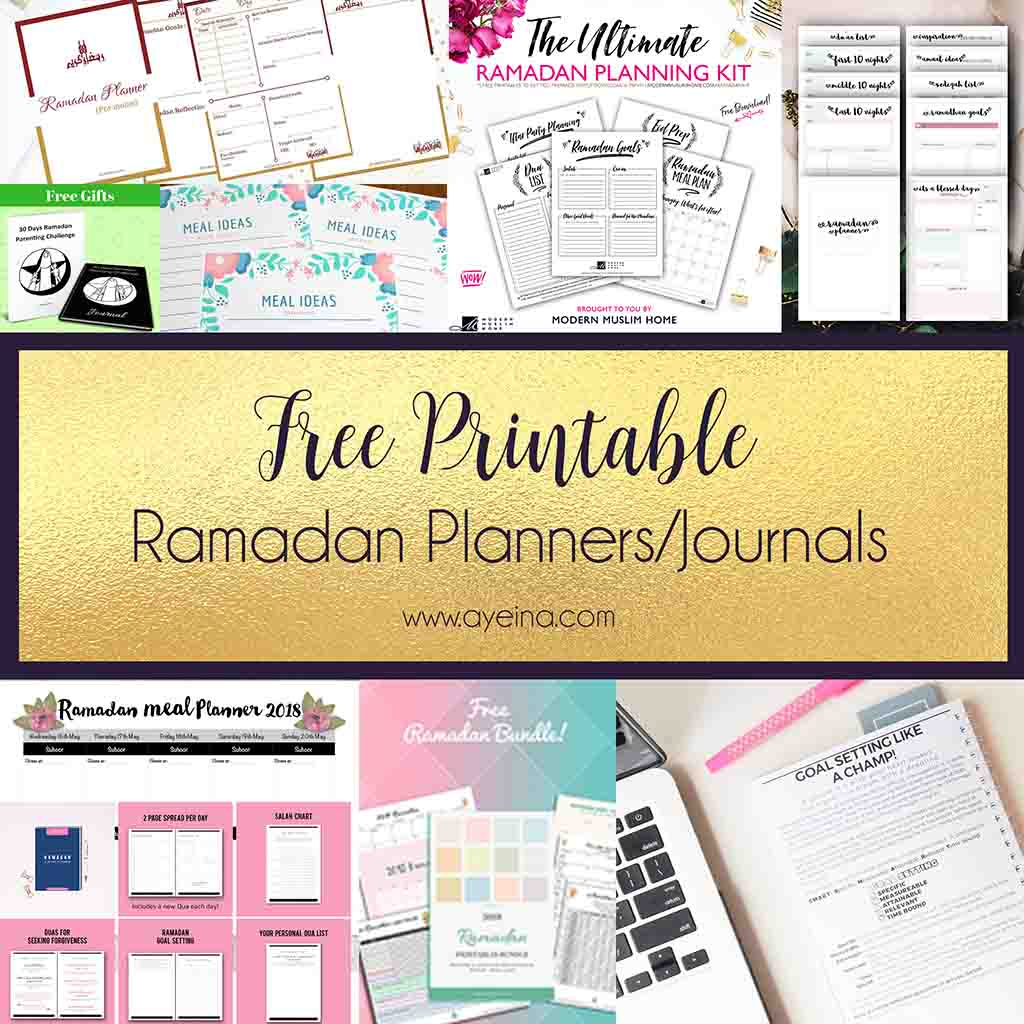 Confessions Of A Practicing Muslim Free Ramadan Printables
