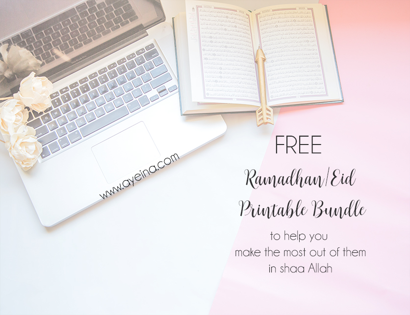 Confessions of a Practicing Muslim Awaiting Ramadhan (+FREE Ramadhan Printables)