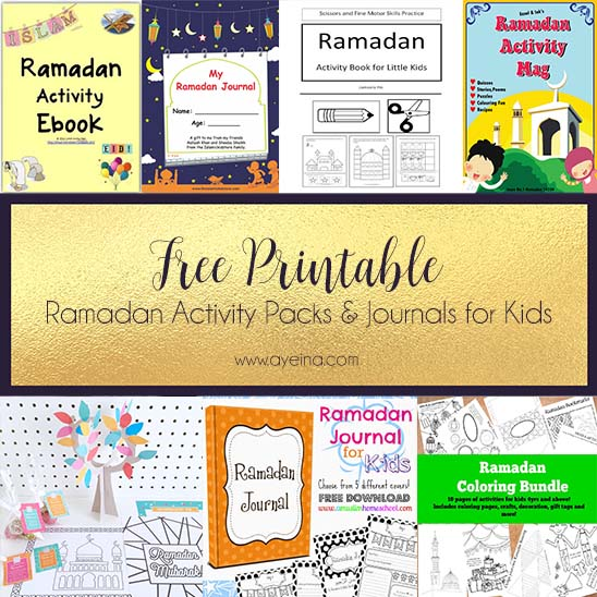 Involving Kids In The Ramadan Spirit Free Printables Updated