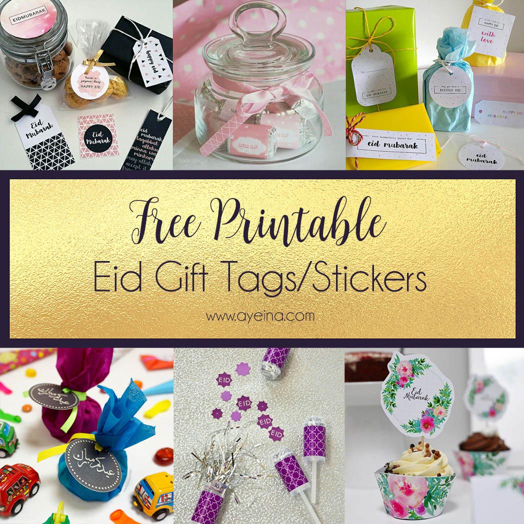 Eid Mubarak Stickers: Ultimate List Of FREE Eid Printables (UPDATED: 2019)