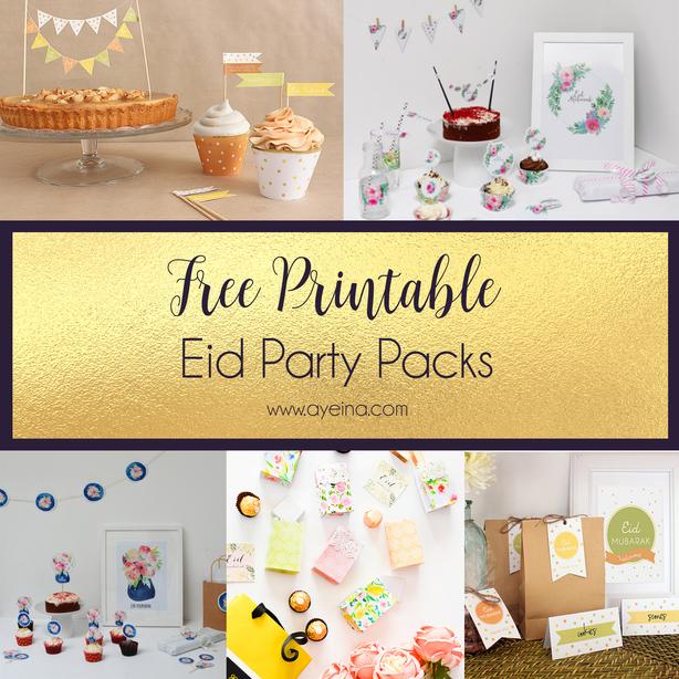 Ultimate List Of Free Eid Printables Updated 2020 Ayeina