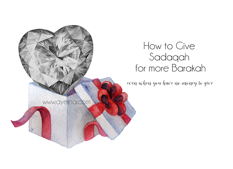How to Give Charity When You Love Dunya