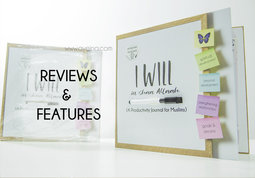 I WILL in shaa Allah Reviews – Productivity Journal for Muslims