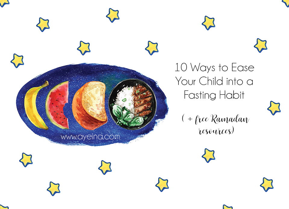 10 Tips to Help Kids Fast for Ramadan