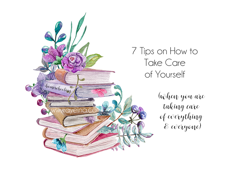 7 Self Care Goals for Homeschooling Mums