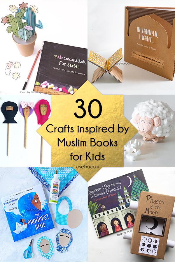30 Eid Crafts For Kids Based On Muslim Books Ayeina