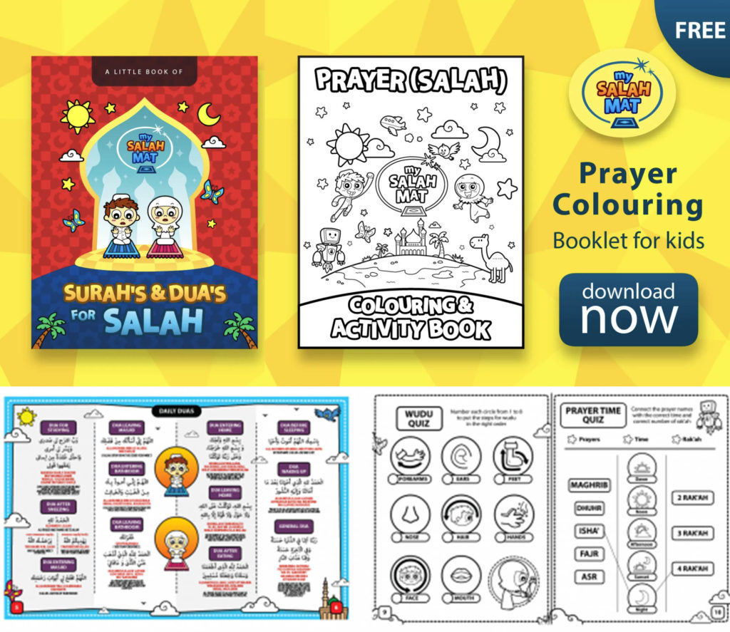 salah freebies for Muslim kids free activities